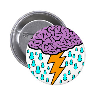 Brainstorm 2 Inch Round Button