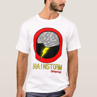 Brainstorm - Men's White T-Shirt