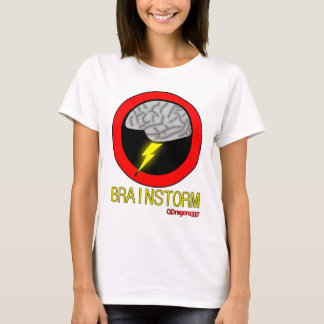 Brainstorm - Women's White T-Shirt