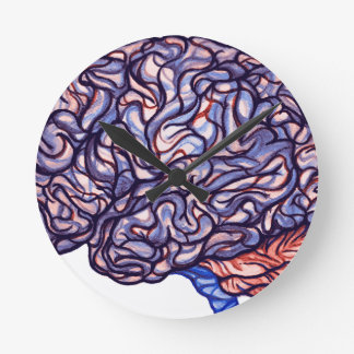 BrainStorming Round Clock