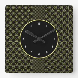 Brainy bacteria pattern clocks