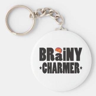 Brainy Charmer K Keychain