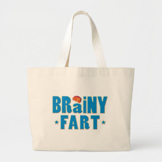 Brainy Fart Tote Bags