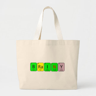 BRaINY Large Tote Bag