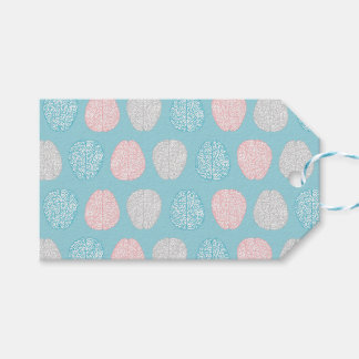 Brainy Pastel Pattern (Awesome Pastel Brains) Gift Tags