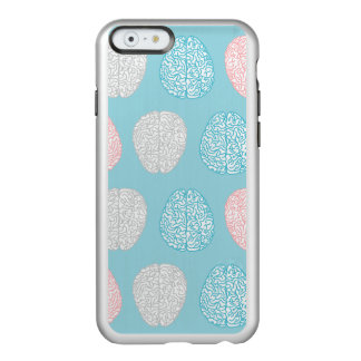 Brainy Pastel Pattern (Awesome Pastel Brains) Incipio Feather® Shine iPhone 6 Case