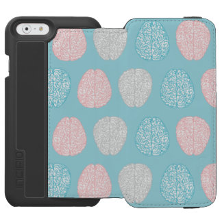 Brainy Pastel Pattern (Awesome Pastel Brains) Incipio Watson™ iPhone 6 Wallet Case