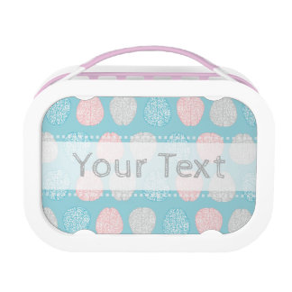 Brainy Pastel Pattern (Awesome Pastel Brains) Lunchboxes