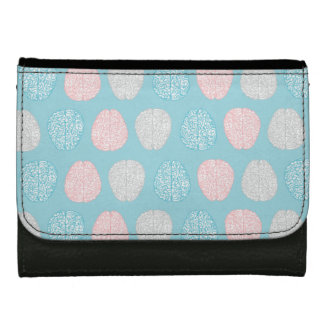 Brainy Pastel Pattern (Awesome Pastel Brains) Wallets For Women
