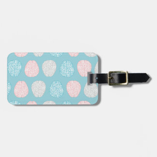 Brainy Pastel Pattern Luggage Tag