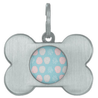 Brainy Pastel Pattern Pet ID Tag