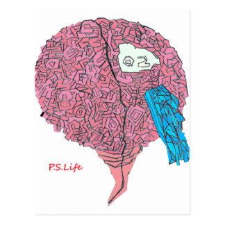 Brainy Postcard
