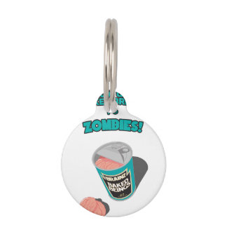 Brainz - Baked Beings Brains for Zombies Pet ID Tags
