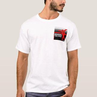 Braking the cycle 2004 T-shirt