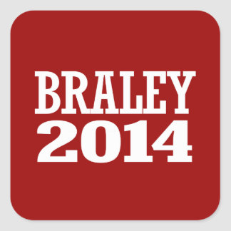 BRALEY 2014 SQUARE STICKERS