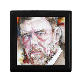 BRAM STOKER - watercolor portrait Gift Box