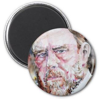 BRAM STOKER - watercolor portrait Magnet