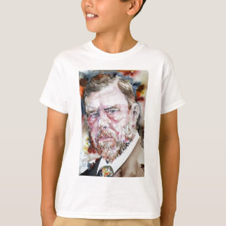 BRAM STOKER - watercolor portrait T-Shirt
