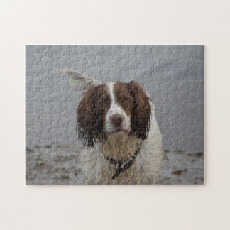 'Bramble the Spaniel' Jigsaw Jigsaw Puzzle