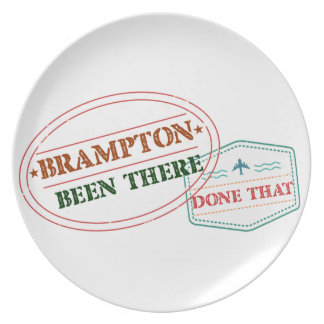 Brampton Been there done that Plate