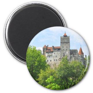 Bran castle, Romania 2 Inch Round Magnet