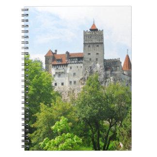 Bran castle, Romania Notebook