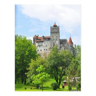 Bran castle, Romania Postcard