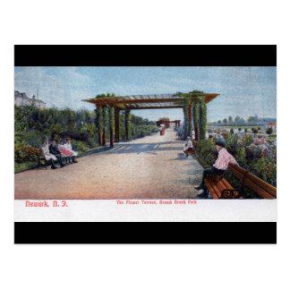 Branch Brook Park, Newark NJ 1905 Vintage Postcard