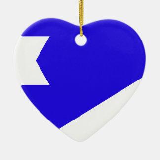 Branch_Davidian_flag Ceramic Ornament