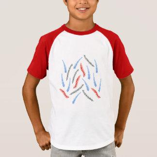 Branch Kids' Short Sleeve Raglan T-Shirt