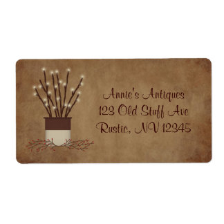 Branch Lights Label