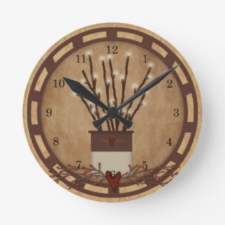 Branch Lights Wall Clock