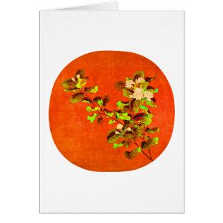 Branch of Flowering White Jasmine 12th Century Card