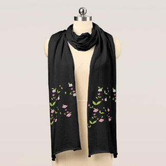Branch of flowers scarf