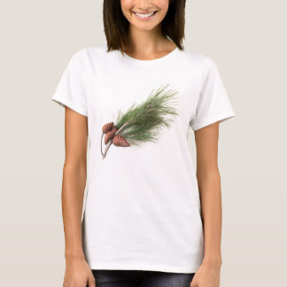 Branch of pine with the pinecone T-Shirt