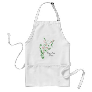 Branch of Pink Cherry Blossom Standard Apron