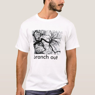 branch out - clear sky T-Shirt