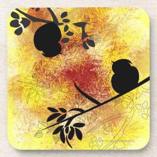 Branch Pattern Drink Coasters