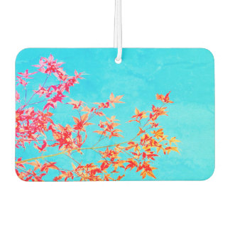 Branch with Colorful Fall Leaves Car Air Freshener
