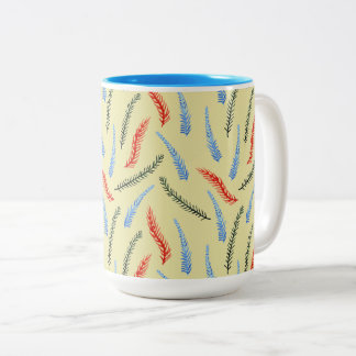 Branches 15 oz Two-Tone Mug