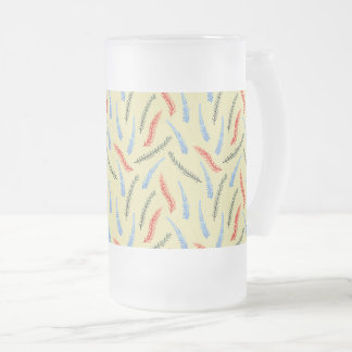 Branches 16 oz Frosted Glass Mug