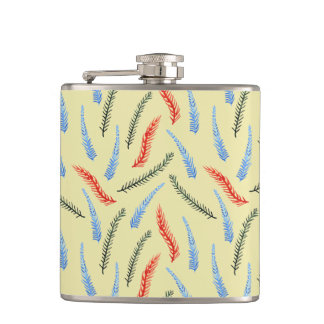 Branches 6 oz Vinyl Wrapped Flask
