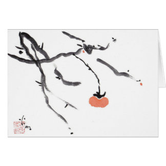 Branches and Persimmon Cards