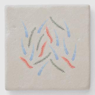 Branches Limestone Coaster