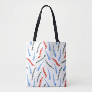 Branches Medium All-Over Printed Tote Bag