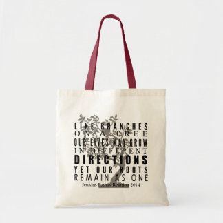 Branches on a Tree Family Reunion Tote Bag
