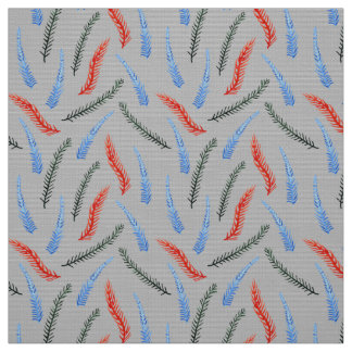 Branches Polyester Weave Fabric
