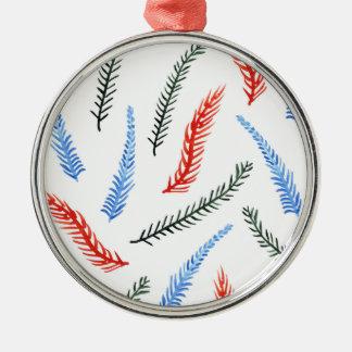 Branches Premium Round Ornament