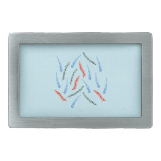 Branches Rectangle Belt Buckle