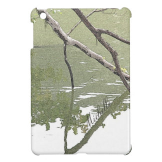 Branches & Reflections/Nature Zen Personalized Case For The iPad Mini